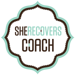 she recovers logo