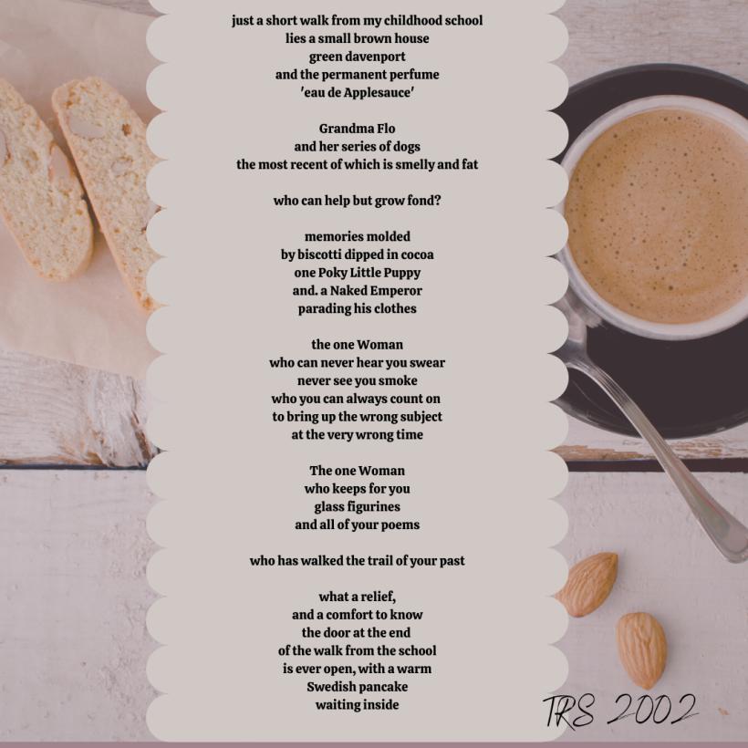 grandma flo poem